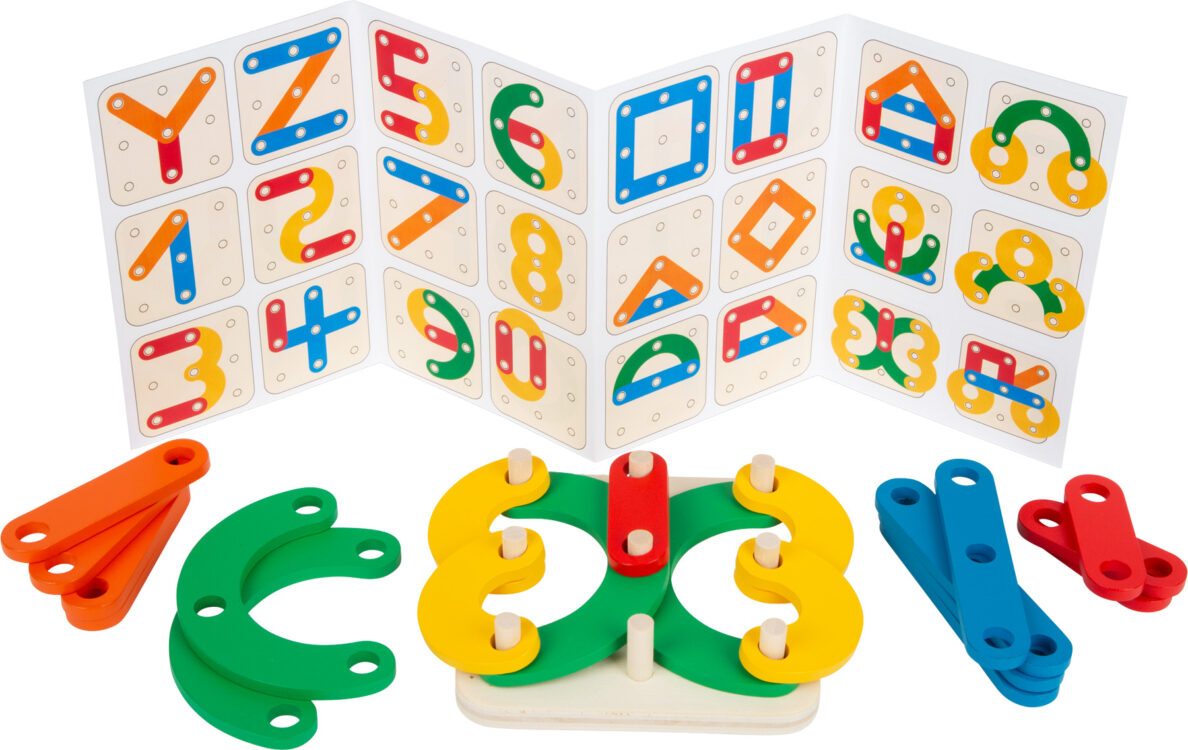 Construção de Letras e Números